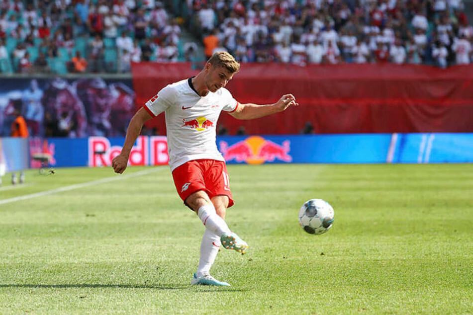 Timo Werner traf bereits in der 10. Minute zur wichtigen 1:0-Führung. Zwei weitere guten Chancen ließ der Nationalstürmer liegen.