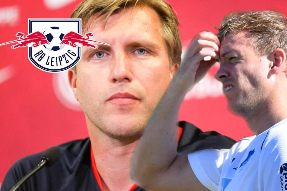 Krisensitzung bei RB Leipzig: Krösche nimmt Nagelsmann in Schutz