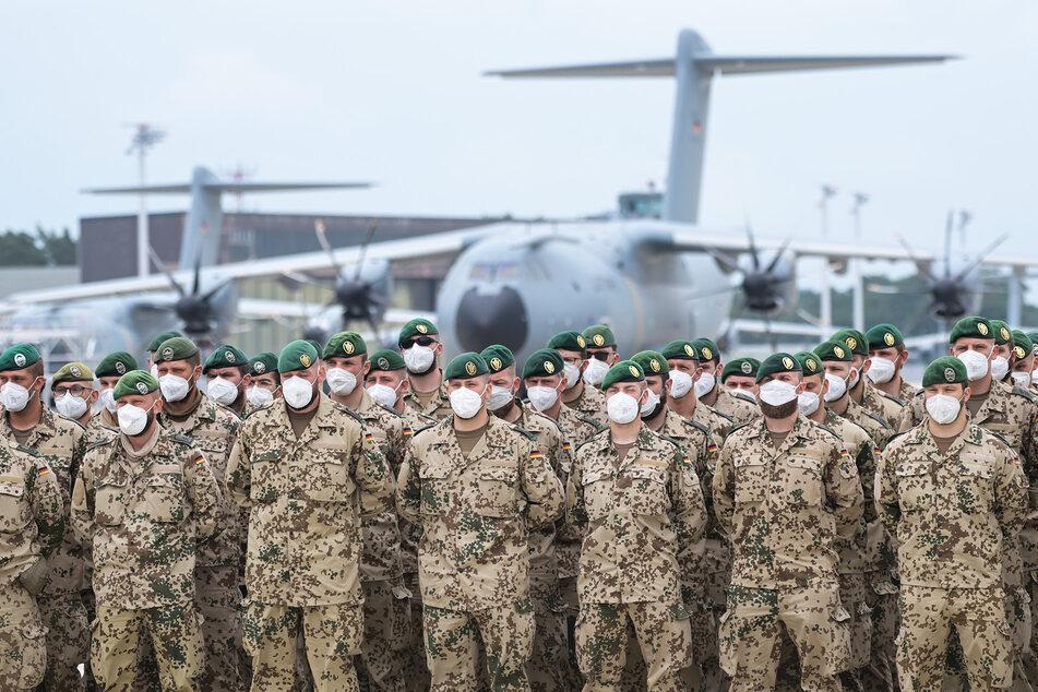 Die letzten Soldaten des deutschen Afghanistan-Einsatzes traten zum Abschluss-Appell in Wunstorf an.