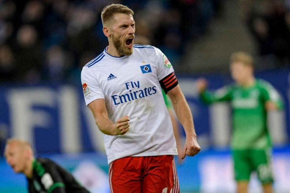 Aaron Hunt führt die HSV-Kicker in die neue Saison.