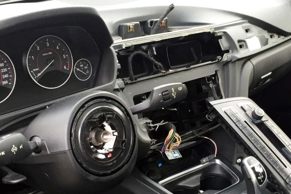 Besonders auf Navigationsgeräte und Autoradios haben es die Autoknacker abgesehen.