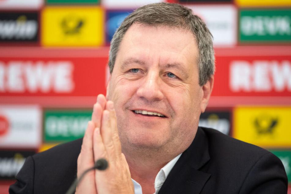 Werner Wolf möchte am Sonntag Präsident des 1. FC Köln werden.