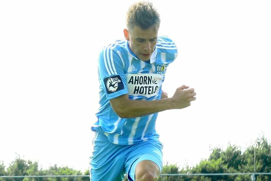 Florian Hansch am Ball. Der pfeilschnelle CFC-Stürmer hat in der vergangenen Saison den Durchbruch bei den Himmelblauen geschafft.