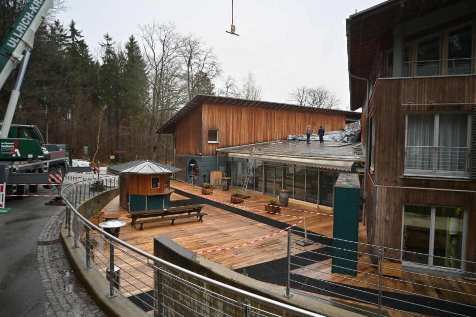 Die Außengastronomie - wie hier das Forsthaus Grüna - soll von einem neuen Stadtratsbeschluss profitieren.