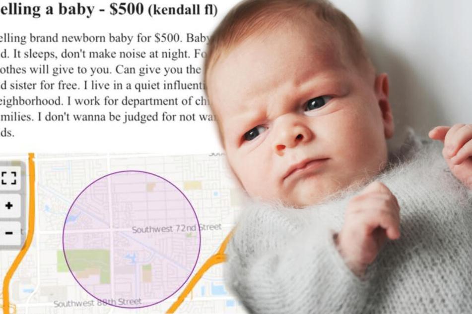 Frau will ihr Baby verkaufen und legt noch etwas Unglaubliches oben drauf!