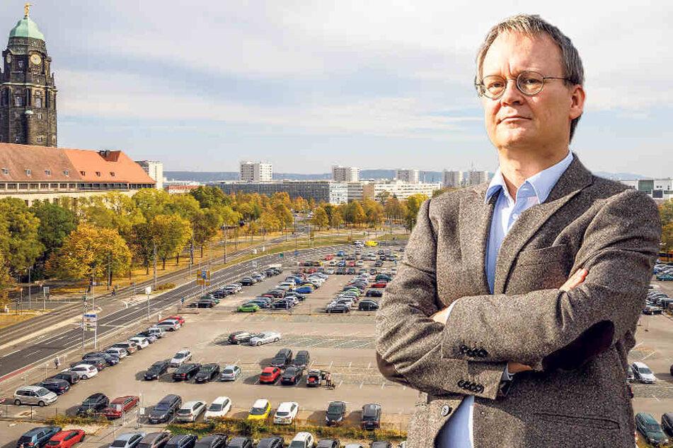 Wertvollstes Grundstück in Dresden? Rathaus-Linke will sich nicht erpressen lassen