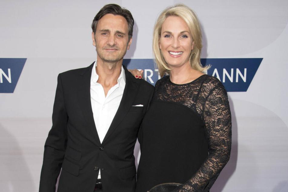 Britt Hagedorn und ihr Mann Ralph auf dem roten Teppich.