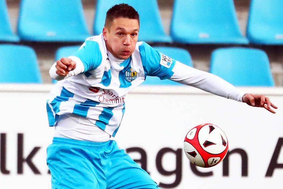 Daniel Frahn avancierte mit 24 Treffern in 32 Regionalligapartien zum Torschützenkönig der Nordost-Staffel.