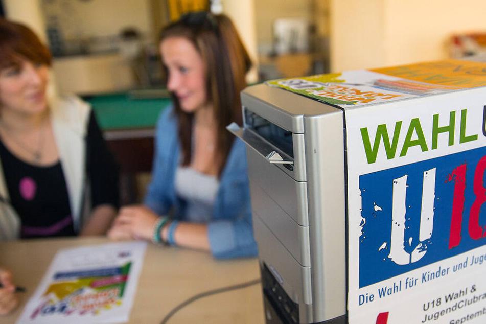 Hier stellen Jugendliche vor Landtagswahl in Sachsen neuen Rekord auf