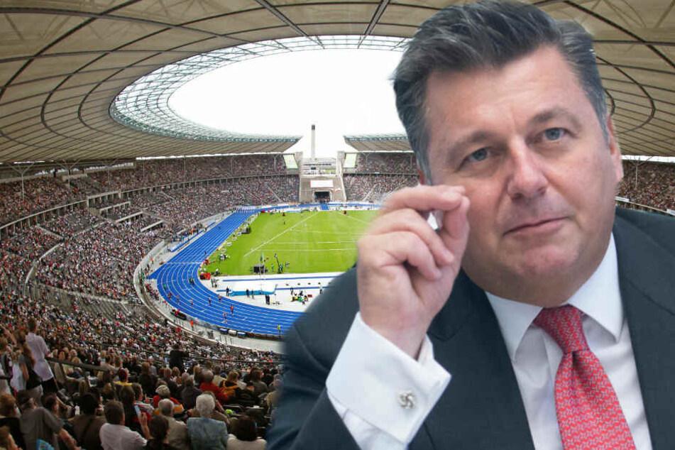 Andreas Geisel kann sich eine Olympiabewerbung für Berlin vorstellen.