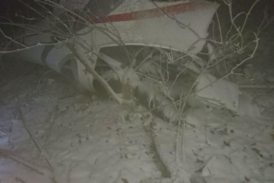 Der 78-jährige Pilot konnte nur noch tot geborgen werden.