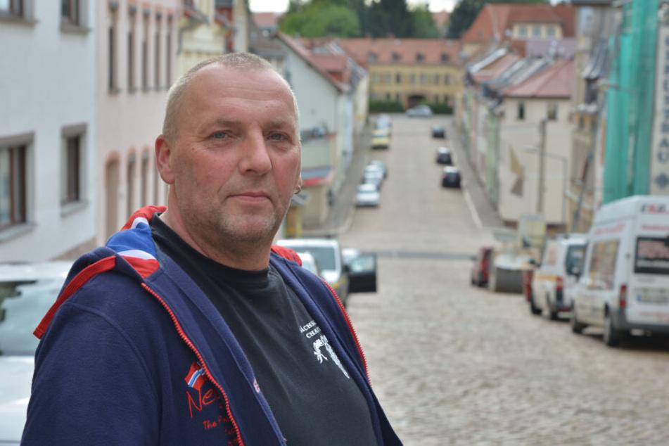 Timo Nitz (51) möchte die Steile Wand für den Durchgangsverkehr sperren.