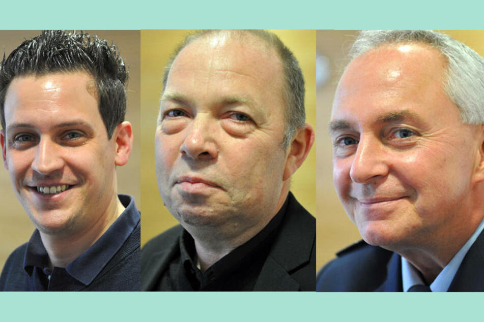 Sascha Günther, Hartmut Vilmar und Ralf Kaster unterstützen das verstärkte Sicherheits-Konzept.