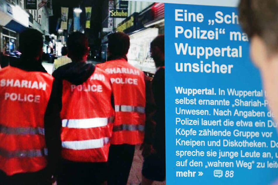 Die Sharia-Polizei machte 2014 Wuppertal unsicher.