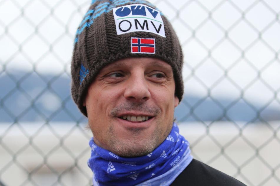 Alexander Stöckl aus Österreich, Trainer der norwegischen Skispringer.