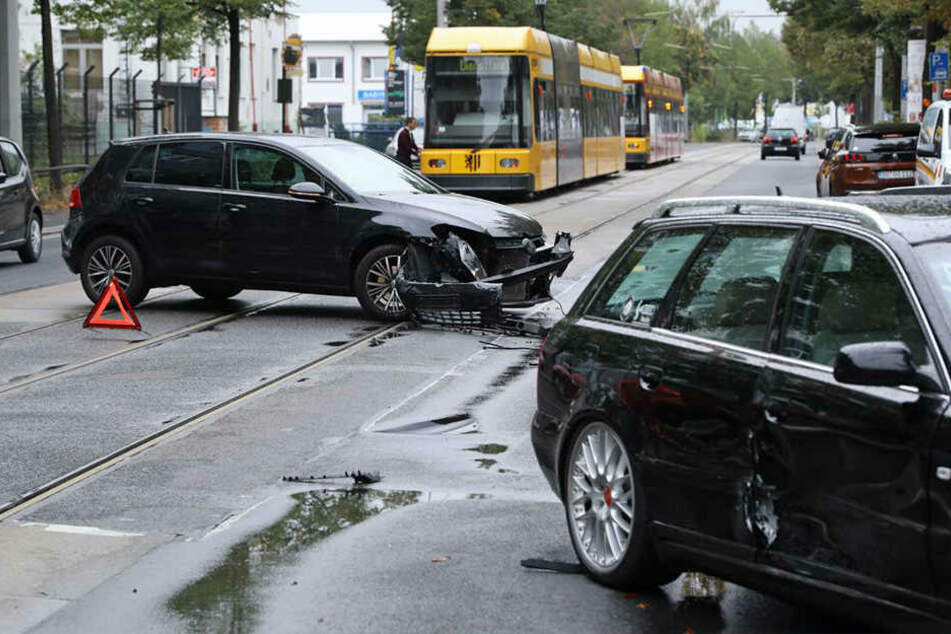Ordentlich gekracht hat es am Donnerstagnachmittag auf der Hamburger Straße.