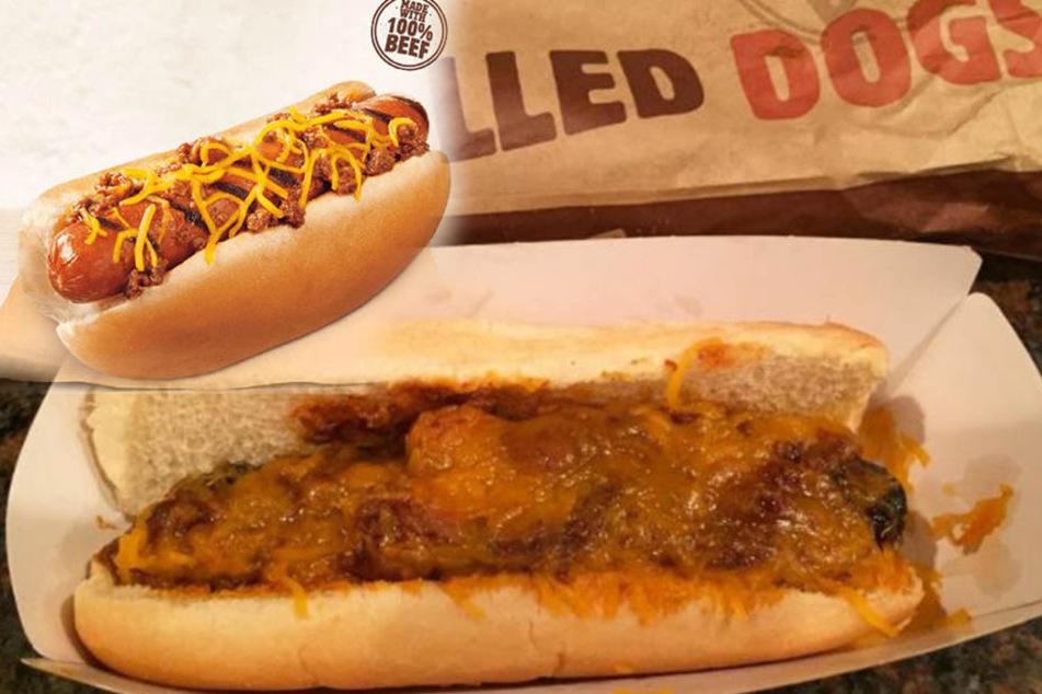 Es geht um die Wurst! Burger King verkauft jetzt spezielle Hot Dogs