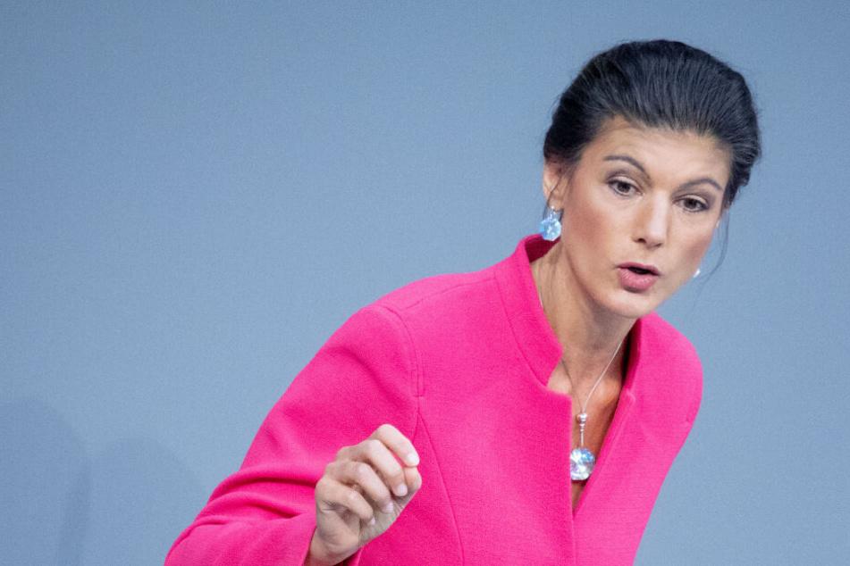 Fraktionschefin der Linken Sahra Wagenknecht fordert bundesweiten Mietendeckel
