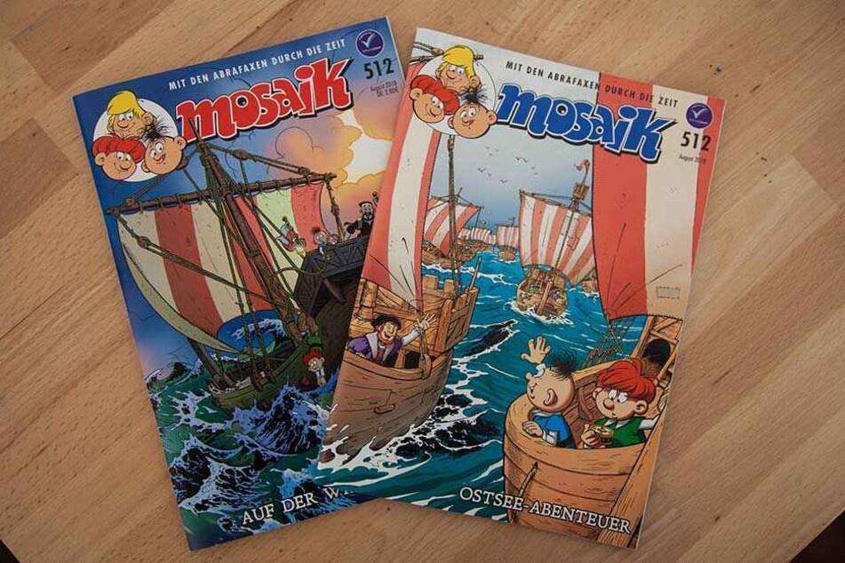 Ein Heft, zwei Cover. Das linke erscheint in der Morgenpost am Sonntag.