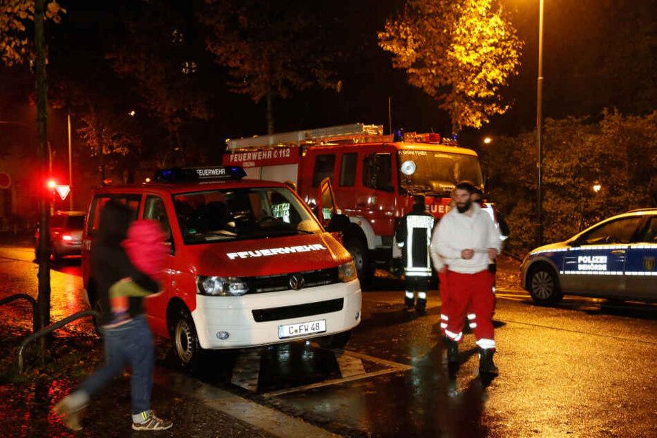 Gegen Mitternacht konnten die Betroffenen wieder in ihre Wohnungen zurück.