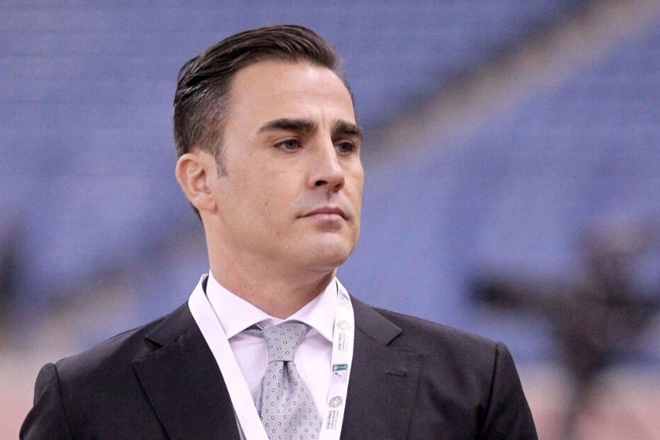 Fabio Cannavaro (45) war Trainer von Anthony Modeste bei Tianjin Quanjian.
