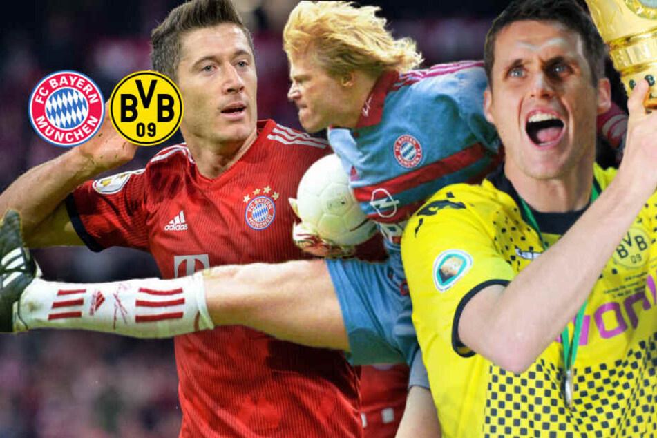 BVB zu Gast beim FC Bayern: Das waren die denkwürdigsten Duelle