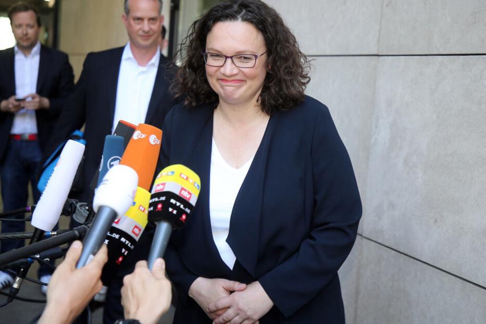Andrea Nahles, bisherige Vorsitzende der SPD, trat kürzlich von Ihrem Parteivorsitz zurück.