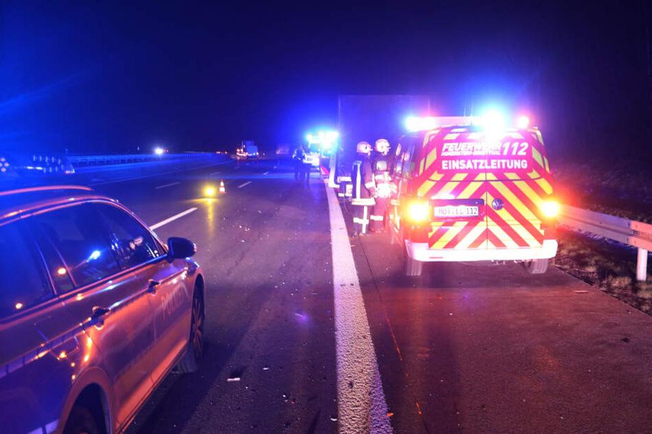 Es kam zu leichten Verkehrsbehinderungen auf der Autobahn.