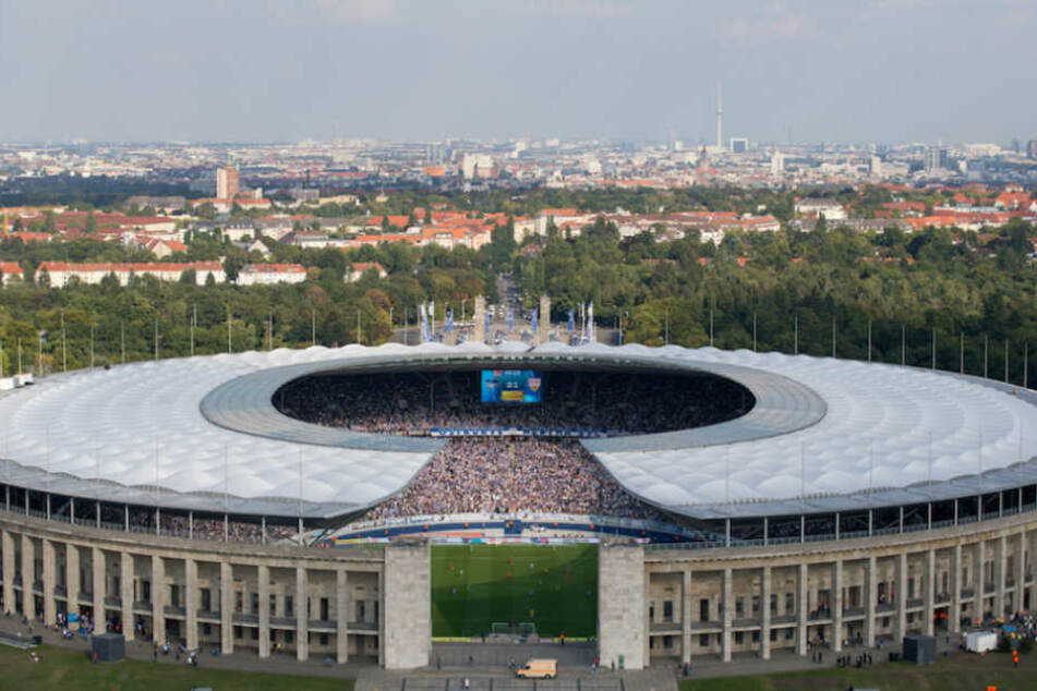 Ausgerechnet am Austragungsort des Pokal-Finales darf der BFC Dynamo ran – im legendären Berliner Olympiastadion.