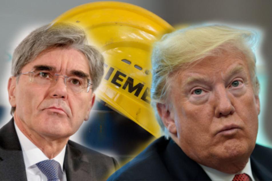 Milliarden-Auftrag im Irak: Durchkreuzt Trump die Pläne von Siemens?