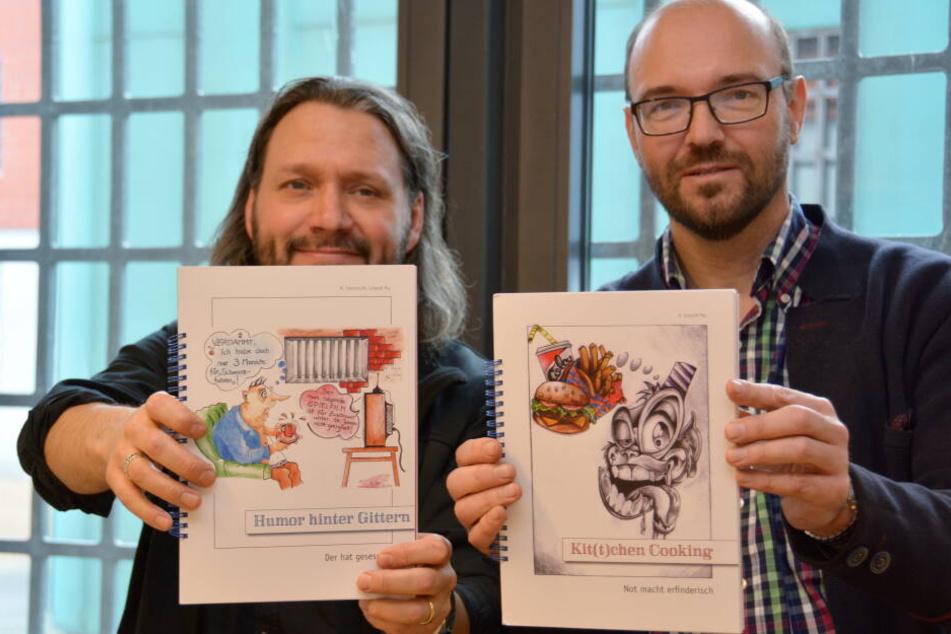 """Schon vor gut zwei Jahren erschein ein Kochbuch mit dem Titel """"Kit(t)chen Cooking unter der Führung der beiden Seelsorger."""
