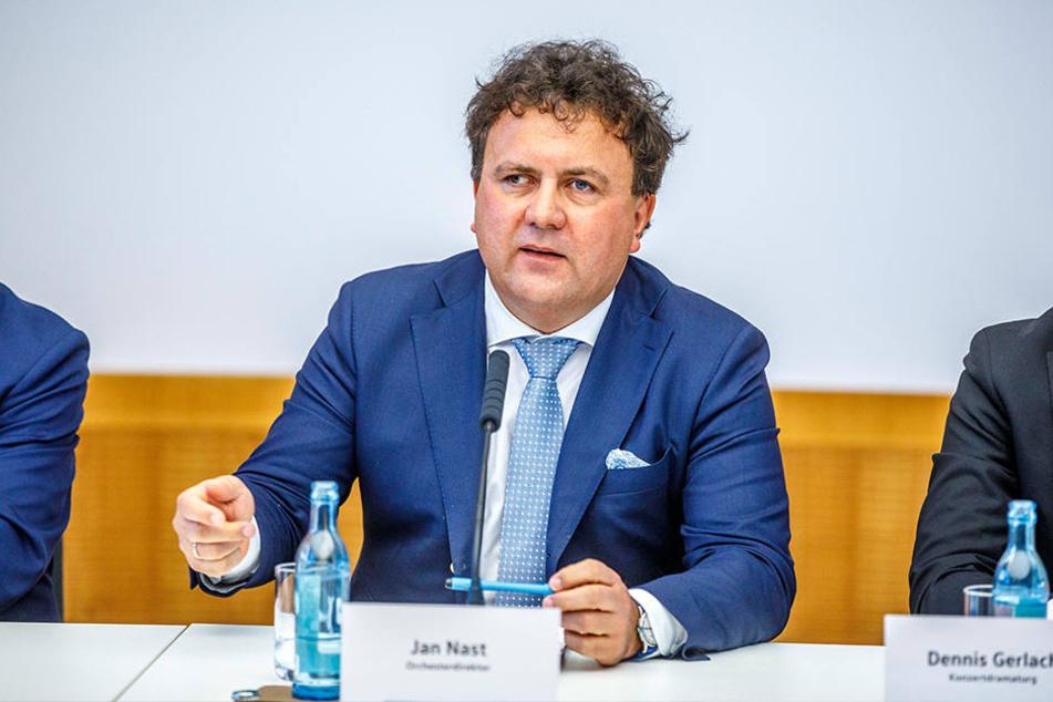 Jan Nast, Orchesterdirektor Staatskapelle.