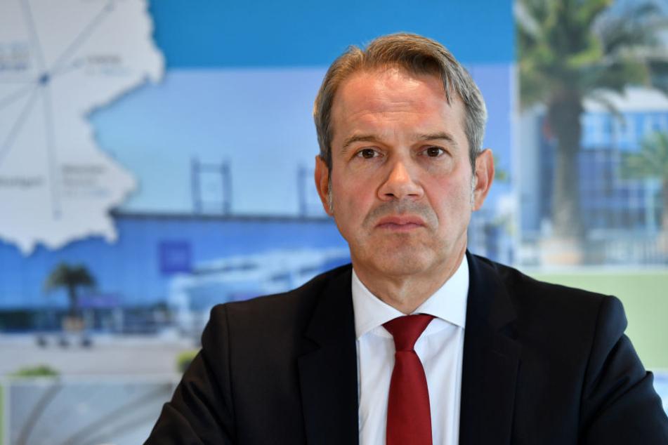 Georg Maier will mehr Polizei in Thüringen haben.