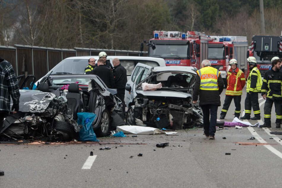 Die Unfallstelle nahe des Gewerbegebiets Bildstöckle in Titisee-Neustadt.