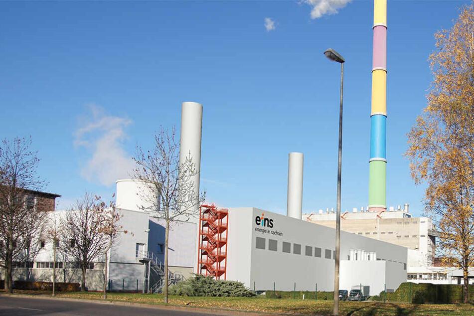 So soll das neue Motorenheizkraftwerk an der Blankenburgstraße im Jahr 2022 aussehen.