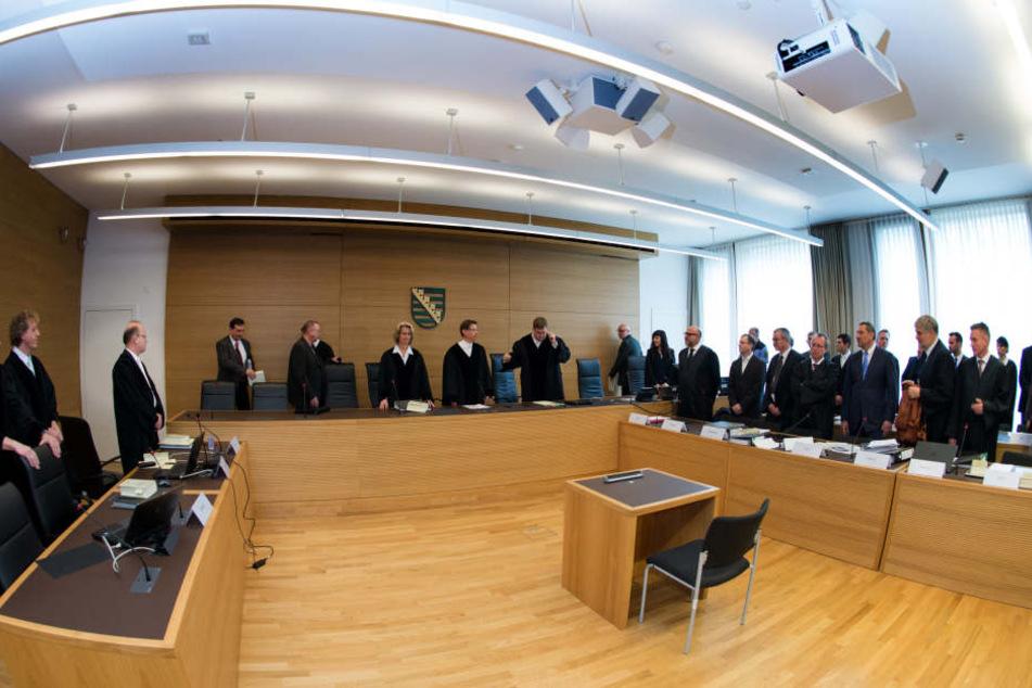 Seit November 2015 läuft der Prozess um den Infinus-Fall am Landgericht.