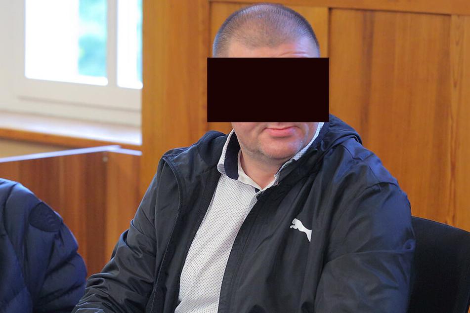 Pawel W. (44) bei der Verhandlung am Dienstag im Amtsgericht Bautzen.