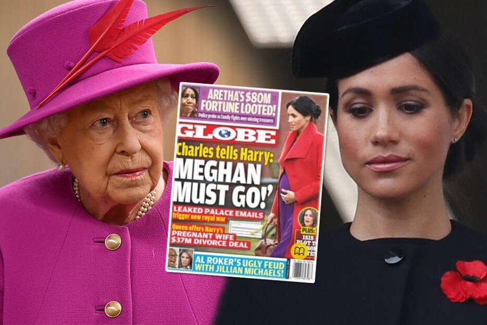 Schwere Vorwürfe gegen Meghan: Hat die Queen genug?
