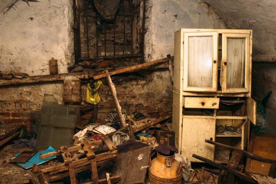 Zwischen Müll und Ramsch wurden die Knochen gefunden (Symbolfoto).