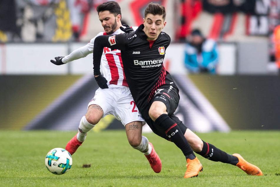 Kölns Bittencourt machte ein starkes Spiel.