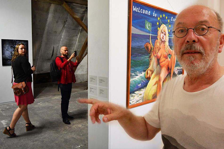 Ostrale - Ja oder Nein? So verhalten reagiert die Chemnitzer Kunstszene