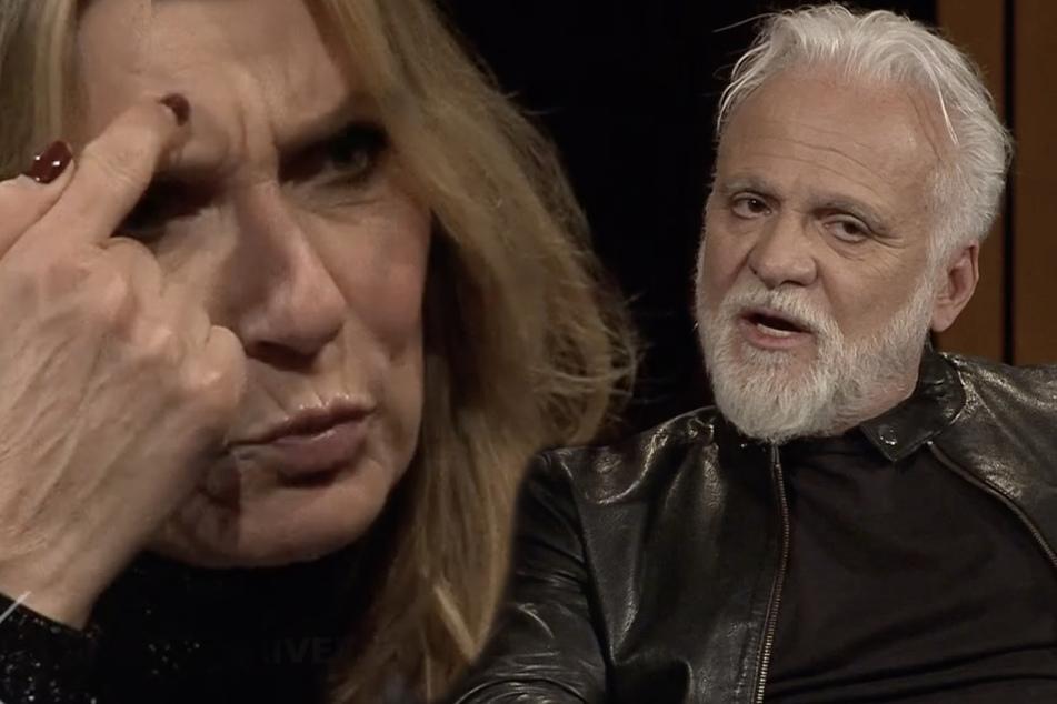 """Kim Fisher sauer auf Nino de Angelo: """"Du spinnst wohl"""""""