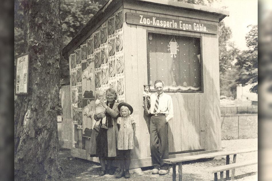 1931 startete Egon Gäble (†62) als erster Zookasper in Dresden.