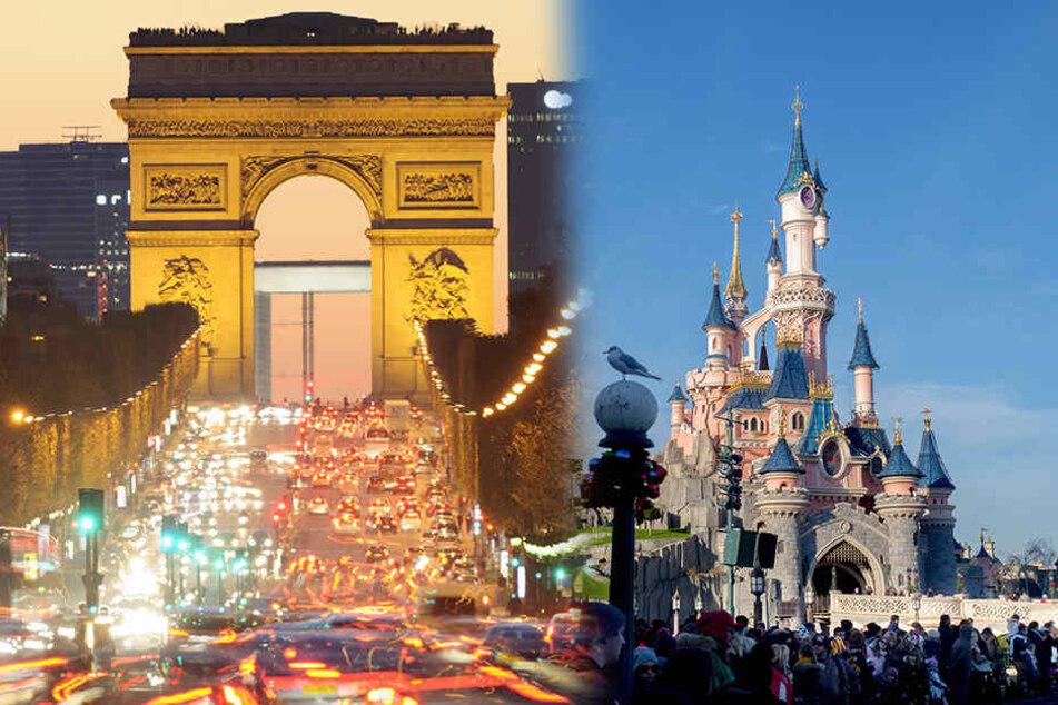 Die Champs-Élysees und das Disneyland sollen zwei Ziele für die Anschläge am ersten Dezember gewesen sein.