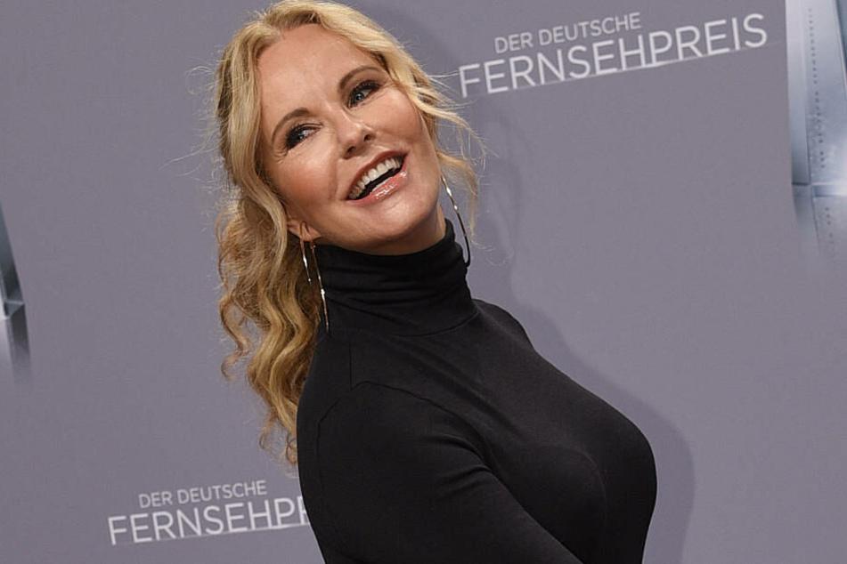 Katja Burkard bei der Verleihung des Deutschen Fernsehpreises im Januar 2018.