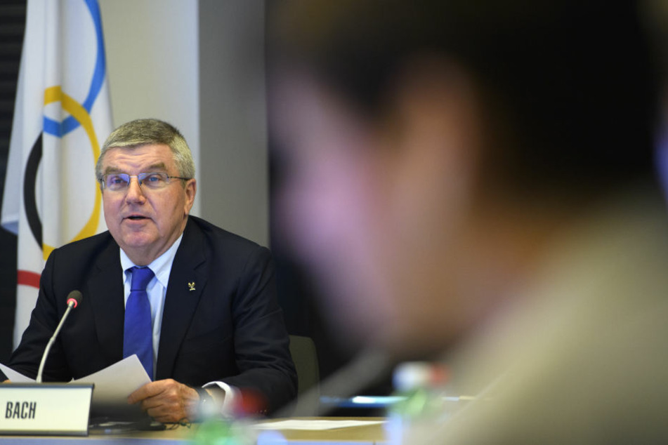 IOC-Boss Thomas Bach (63)