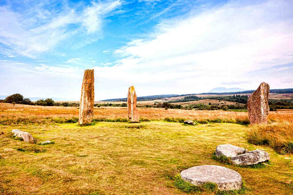 Der Steinzirkel im schottischen Arran ist legendär. In dieser Region wurde die Leiche des Mannes gefunden.