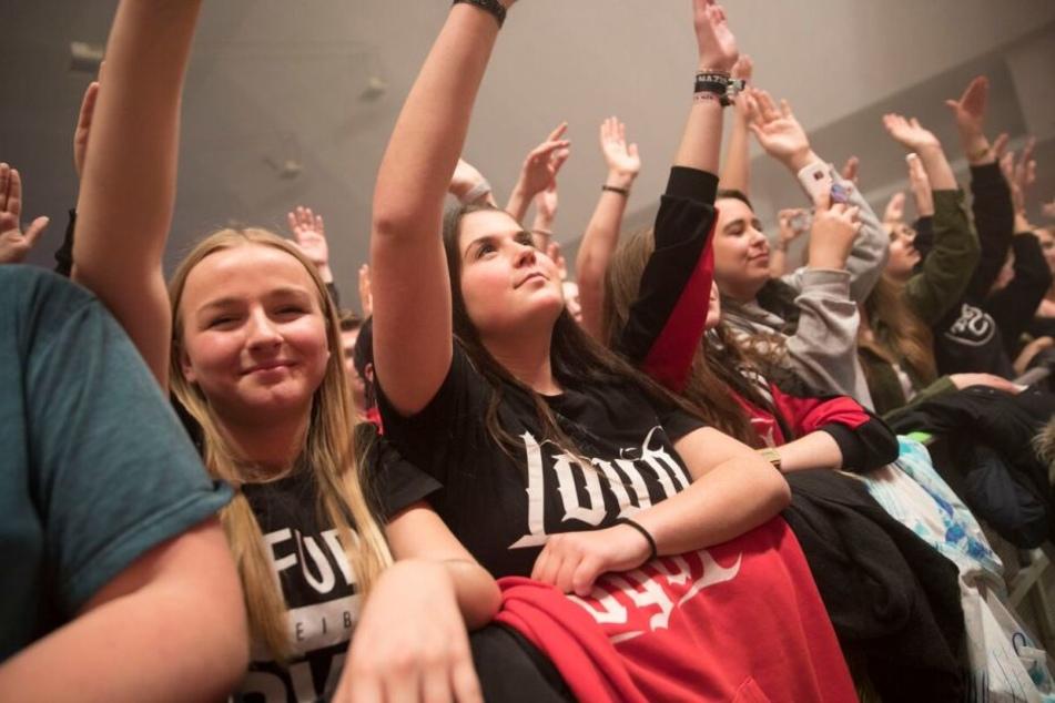 Die Fans waren am Freitag und am Samstag in Top-Stimmung.