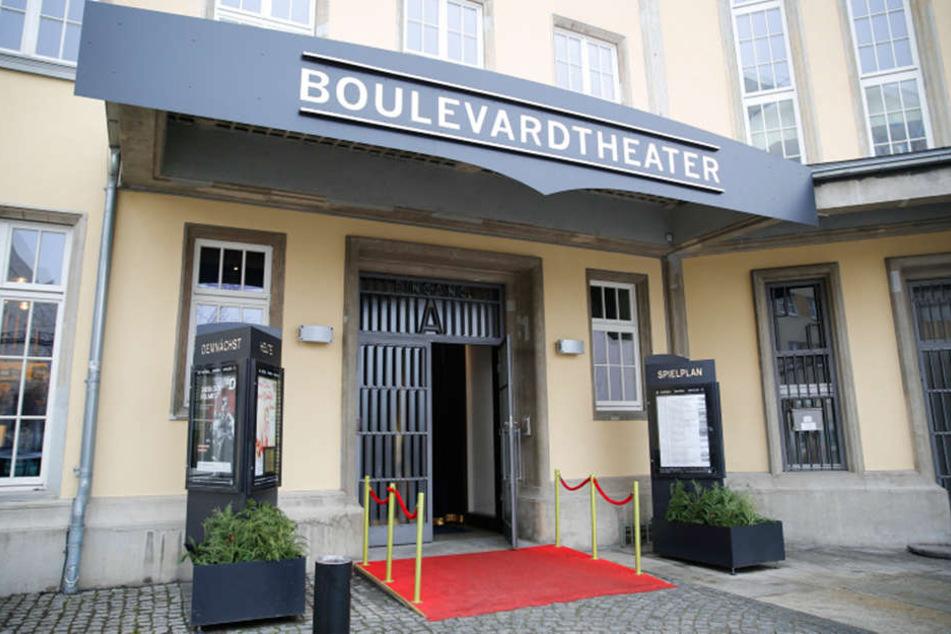 Das Dresdner Boulevardtheater.