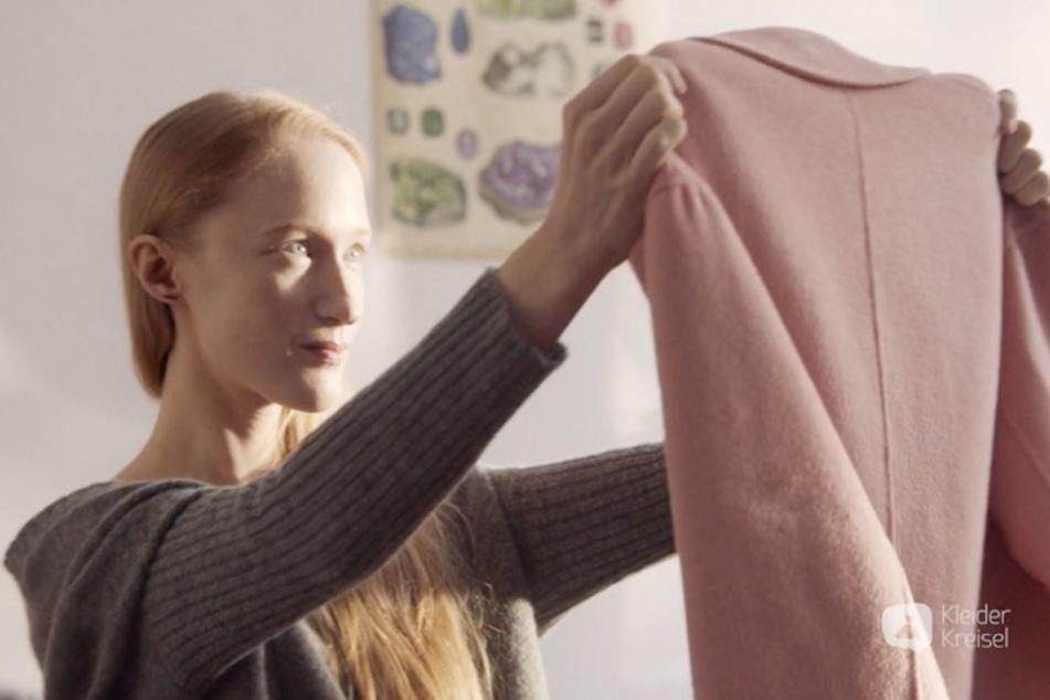 Im aktuellen TV-Spot von Kleiderkreisel ist Britta Thie zu sehen.